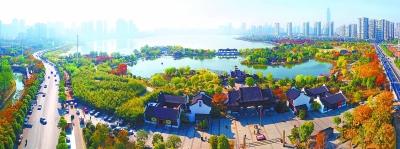 70年武汉公园从2座增至81座,行道树数量增加300倍