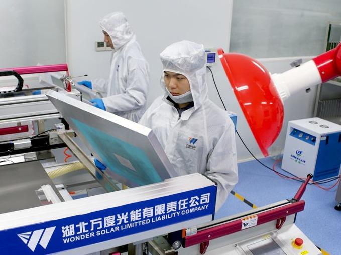 太阳能电池基片印刷测试