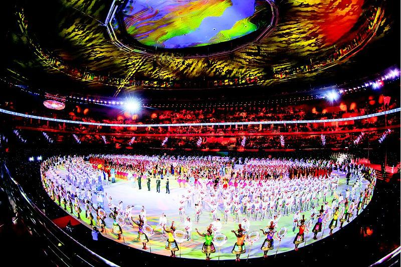 留下浓墨重彩的中国印记 武汉军运会完美谢幕