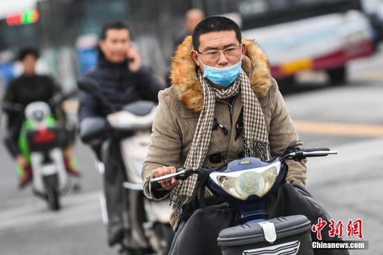"""""""较强冷空气影响长江中下游以北地区 华北黄淮有雾霾"""