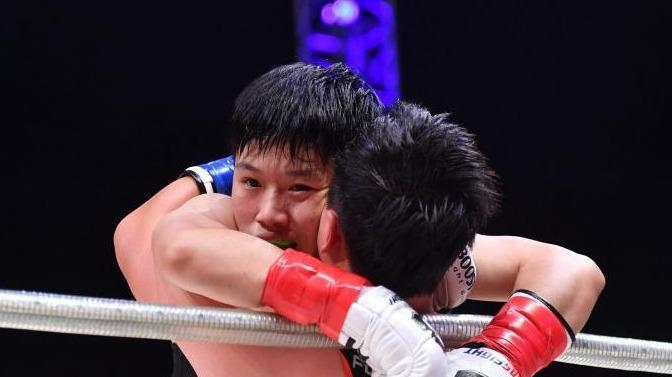 MASFIGHT世界大奖赛:中国祝宝通KO日本西川智之