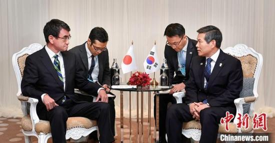 """韩国拒就军情协定""""服软""""日本韩裔聚居区遭针对"""