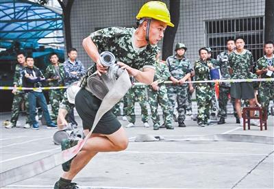百余应急救援队伍活跃在荆楚大地