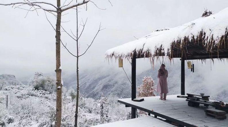 湖北這些地方都下雪啦