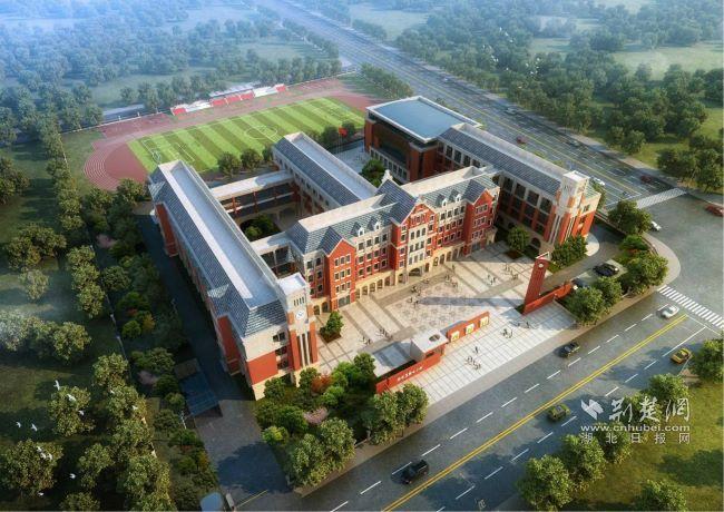 武漢又一所小學已動工 預計明年底建成