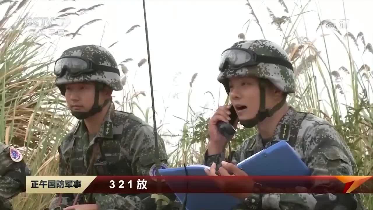 解放军某特战分队反恐演习