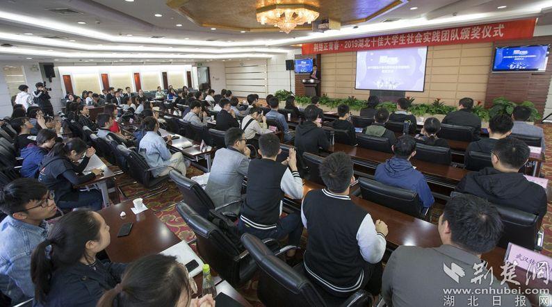 2019yabo亚博体育app官方下载十佳大学生实践团队颁奖仪式举行
