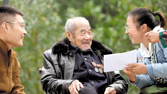 """致敬,中国老兵!——秭归""""80后""""寻访大山深处79名老兵"""