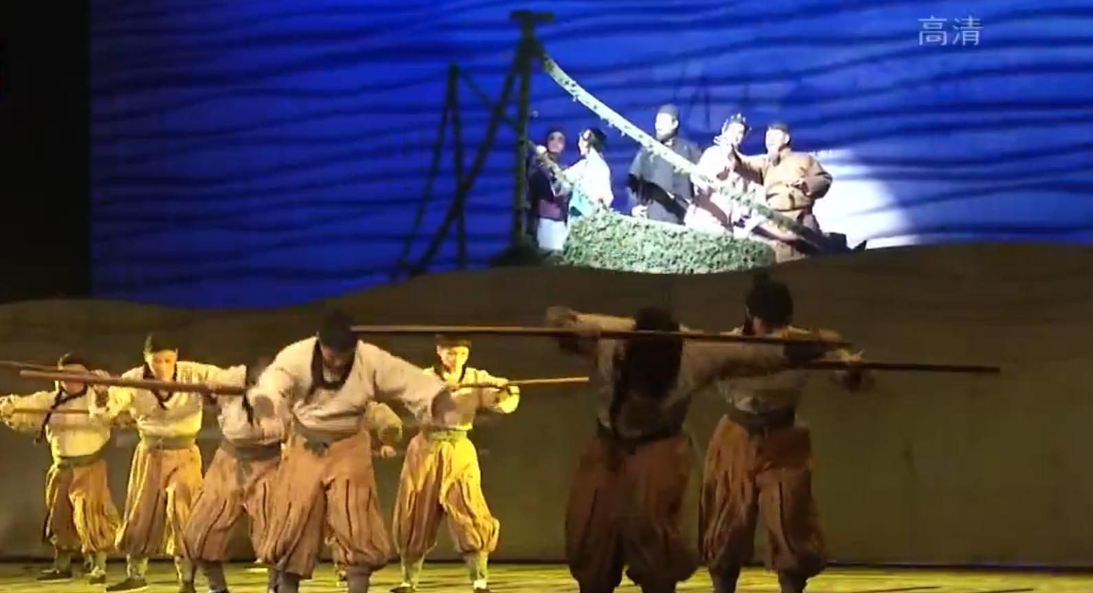 大型原创楚剧《万里茶道》在琴台大剧院上演