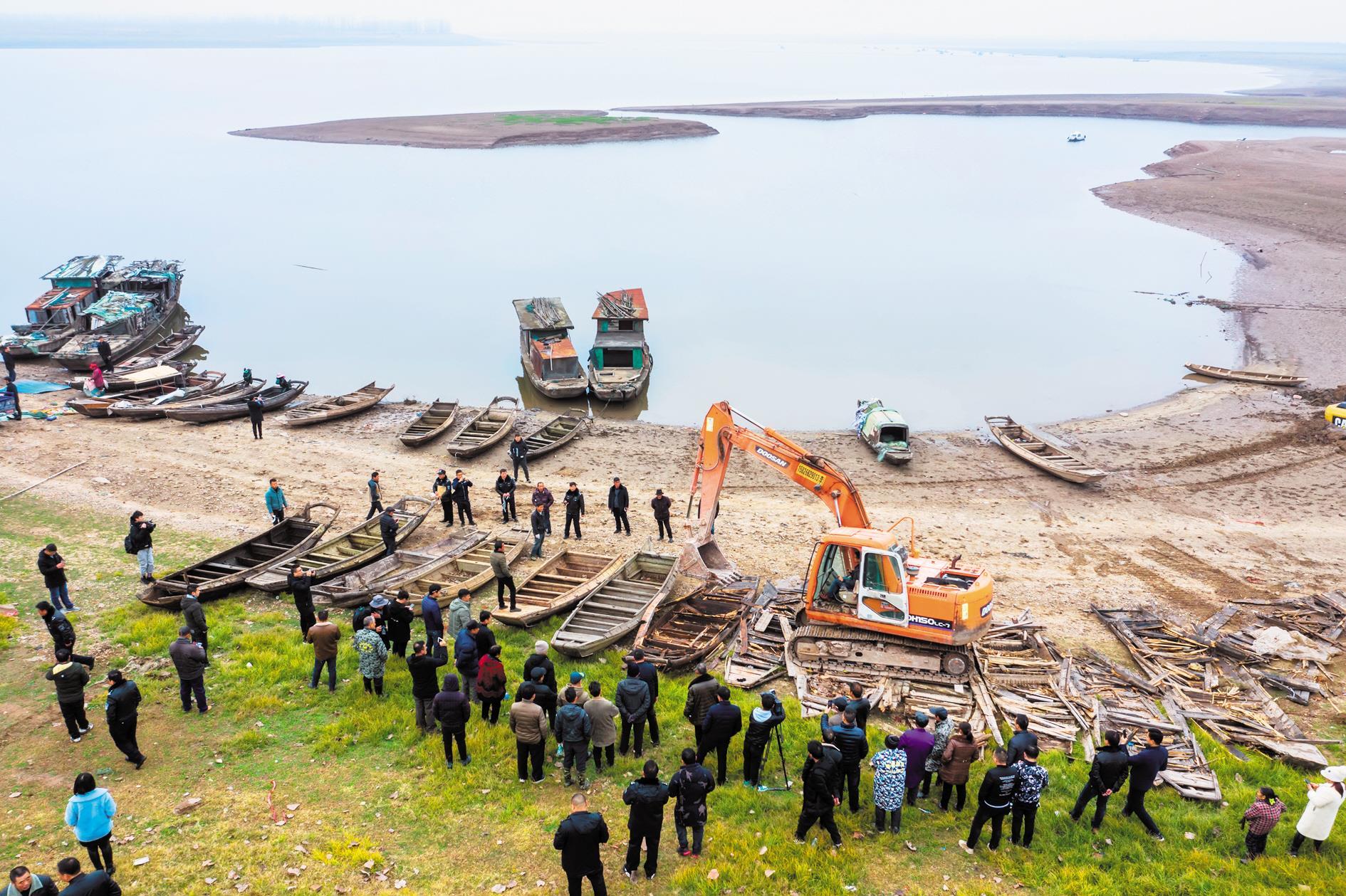 9022艘渔船年底将全部拆解上岸