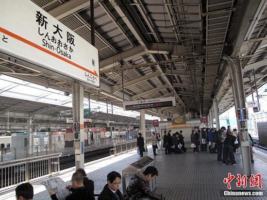 """日本迎来""""春运"""" 出行人群以返乡和旅行为主"""
