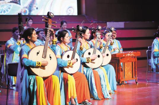 敦煌古乐穿越千年在汉奏响
