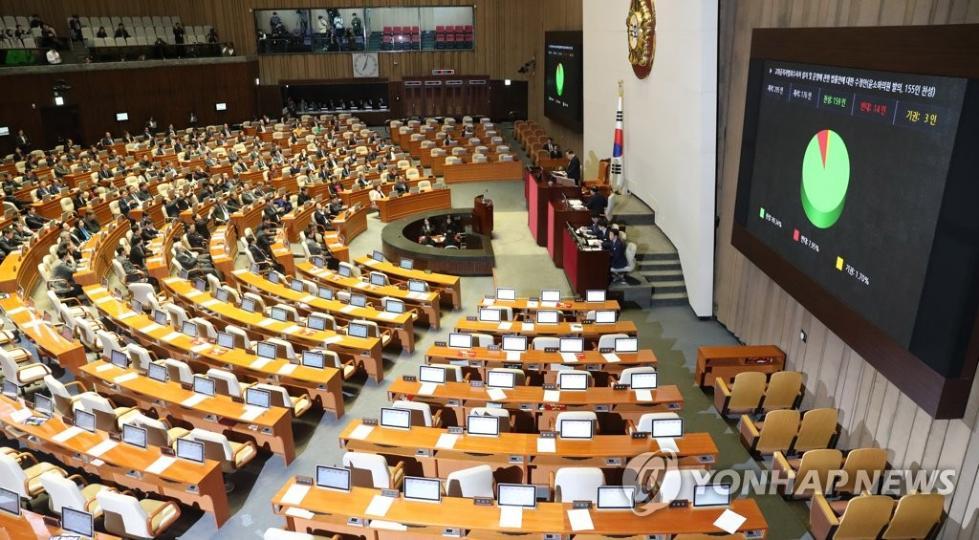 """韩国国会通过设立公职人员反腐机构法案  调查对象包括总统"""""""
