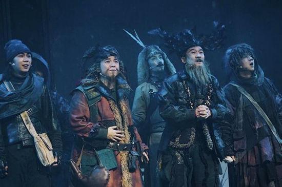 童话音乐剧《九色鹿》在汉首演