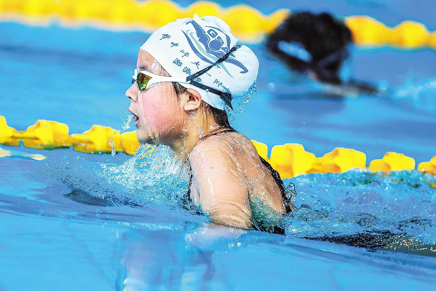 率先接轨全国标准 扩大青少年参赛平台 我省首办游泳U系列比赛