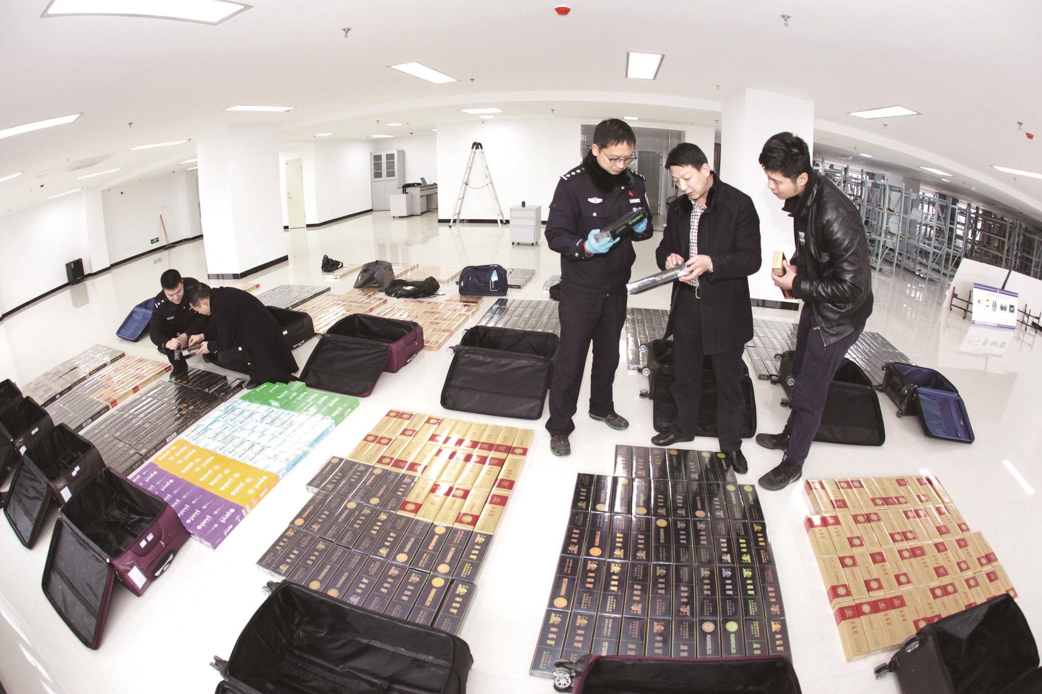 武铁襄阳公安侦破1.47亿元假烟案 31名嫌疑人被抓