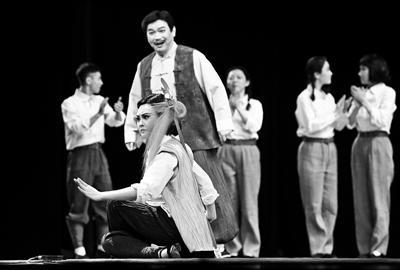 全新现代京剧 回眸《延安往事》