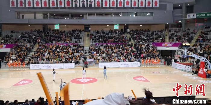 内蒙古农信女子篮球队80:94憾负新疆体彩女子篮球队