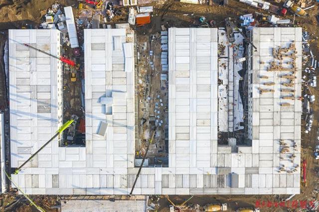 火神山医院设计图