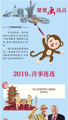 【楚楚画亮点】2019,喜事连连