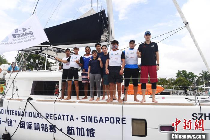 """首届""""一带一路""""国际帆船赛开启四国青少年文化交流"""