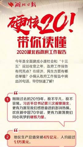 带你读懂2020年省政府工作报告