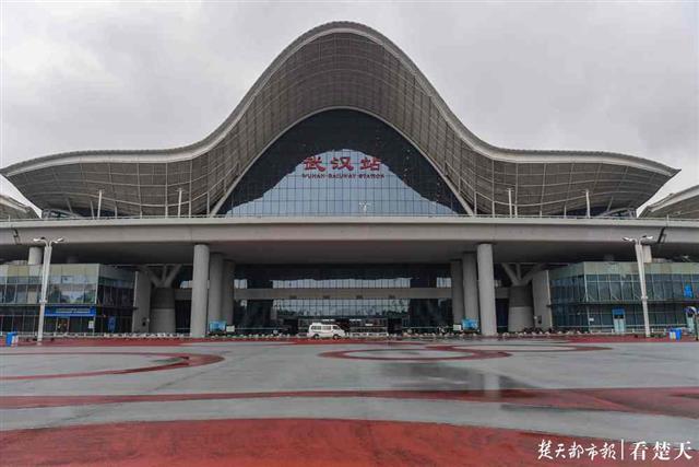 大年初一,记者探访武汉火车站,非常冷清