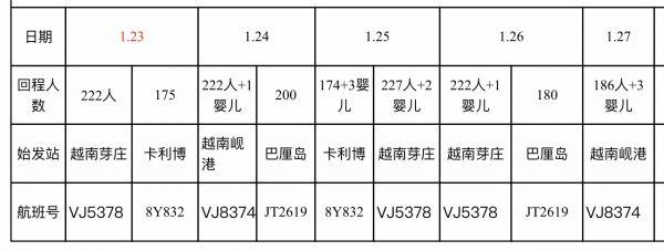 2096名湖北旅客滞留菲律宾和越南,武汉协调11个境外航班返汉