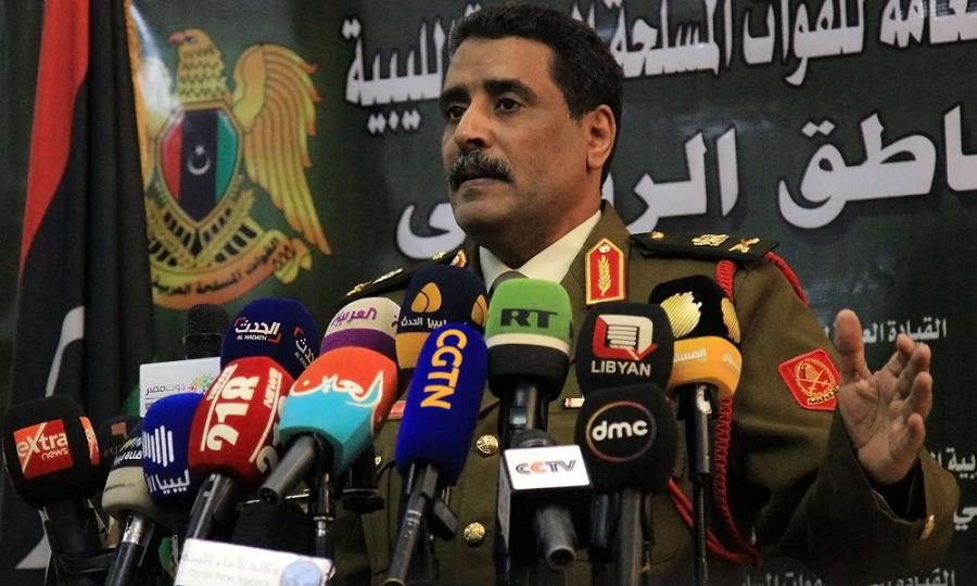 利比亚国民军:已控制北部港口城市苏尔特
