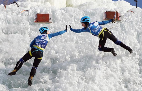 国际登联攀冰世界杯中国(长春)站闭幕