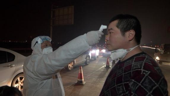 体温检测,搭载动物检查!武汉对进出城车辆及人员实施疫情排查