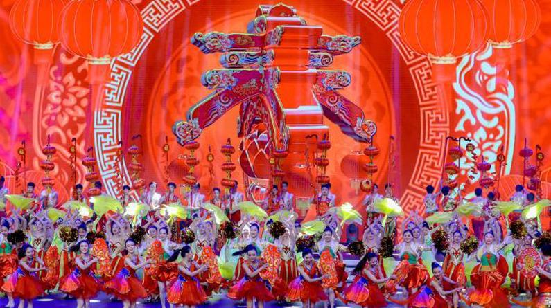 2020全国社区网络春晚在武汉汇演