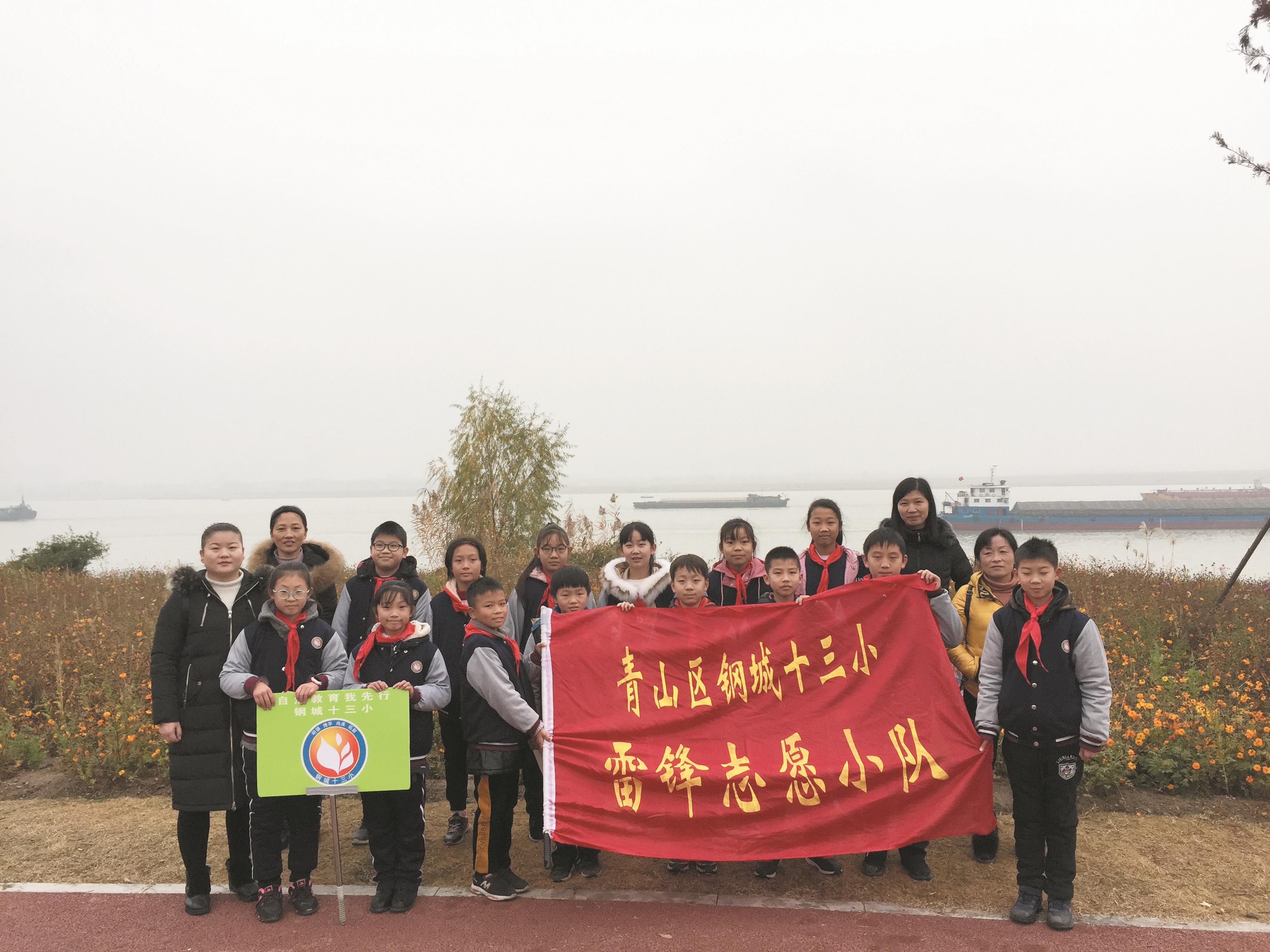 武汉民间河湖长守护江城碧水