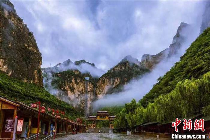 山西太行山大峡谷八泉峡景区晋升为国家5A级旅游景区