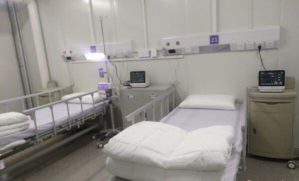 探访武汉火神山医院病房
