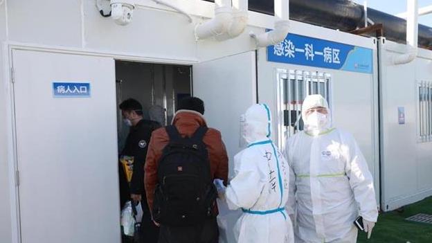 武汉雷神山医院收治患者近600人,ICU病房正式投入使用
