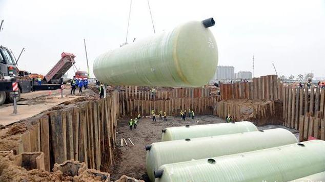 雷神山医院正在加快建设污水处理中心
