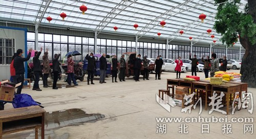 汪仁镇2000盒草莓感恩江苏援助黄