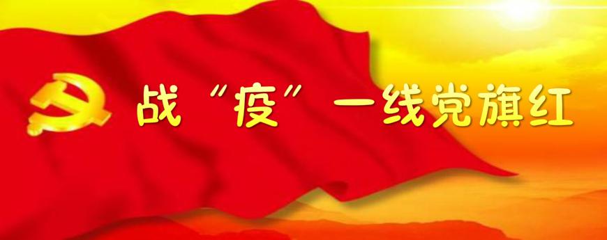 """战""""疫""""一线党旗红"""
