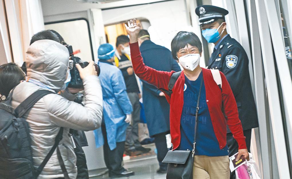 回家了!中国政府包机接回滞留海外湖北籍旅客