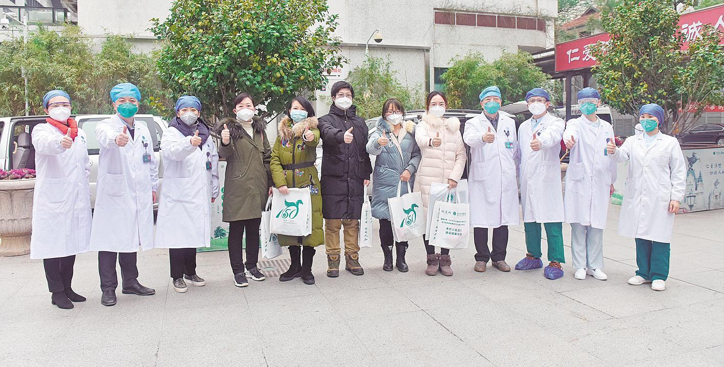 协和医院第二批6名被感染医护人员出院