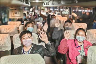 """广州各地各区积极行动欢迎湖北籍返穗人员:做最暖心的""""娘家人"""""""