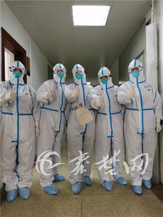 桂医在十堰 19名广西医生奋战十个日夜,送数十名患者出院
