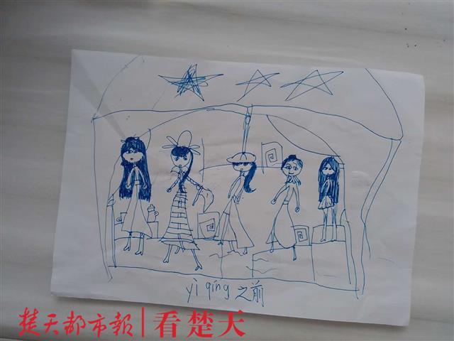 病区7岁小朋友画了两幅画,背后的故事温暖人心