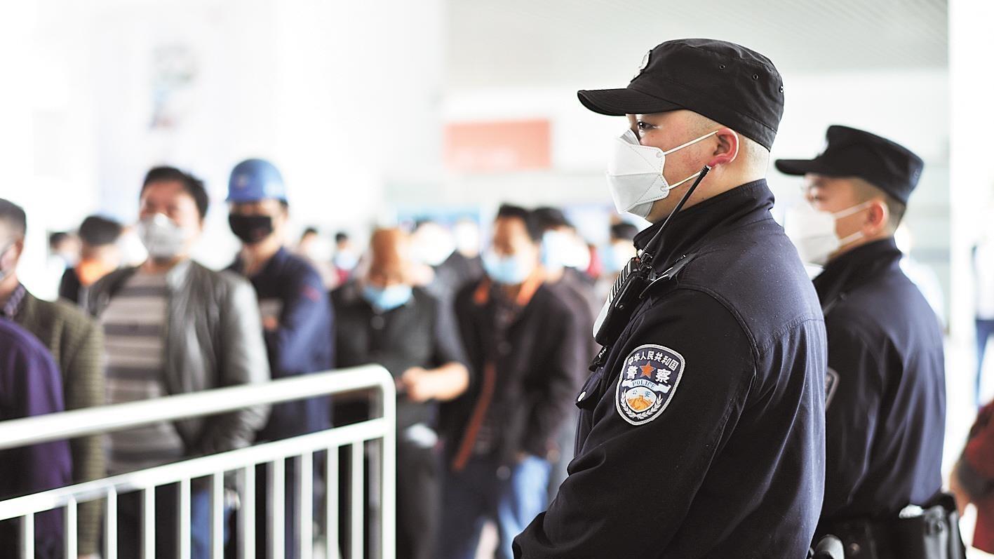 武汉铁警全力为复工复产护航