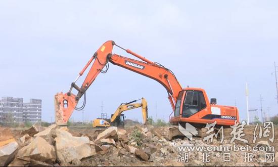 黄冈77个重大项目集中开工 总投资276.8亿元