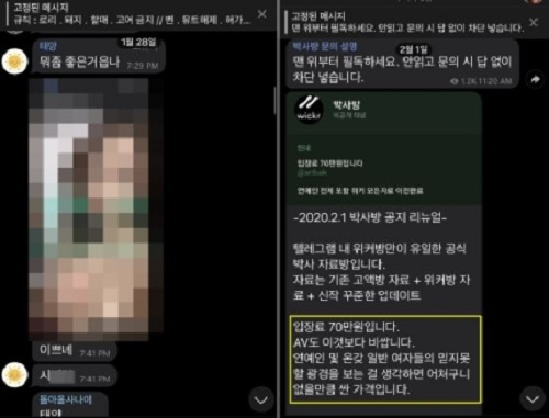 """韩法律修订案提交 """"N号房""""成员或将面临无期徒刑"""