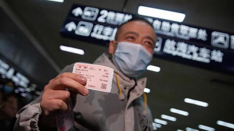 武汉,我们回来了!直击首趟载客列车抵汉