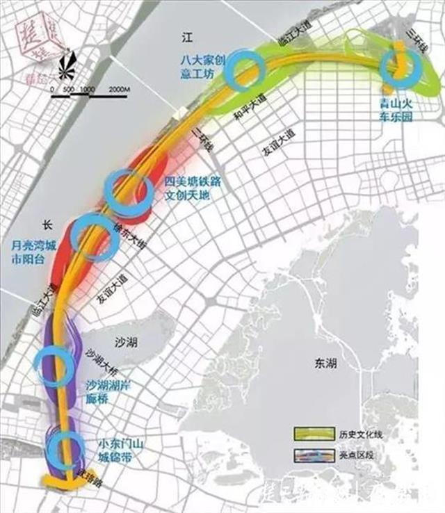 """武汉市武昌生态文化长廊工程建设全面启动,""""文化绿廊""""全长13.46公里"""