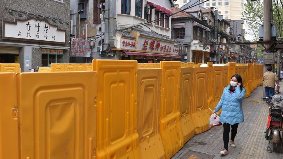 武漢:繼續強化小區封閉管理